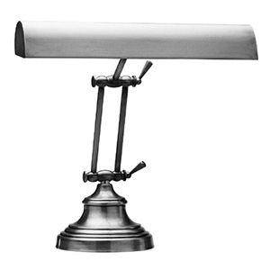 ANTIQUE BRASS PIANO/DESK LAMP